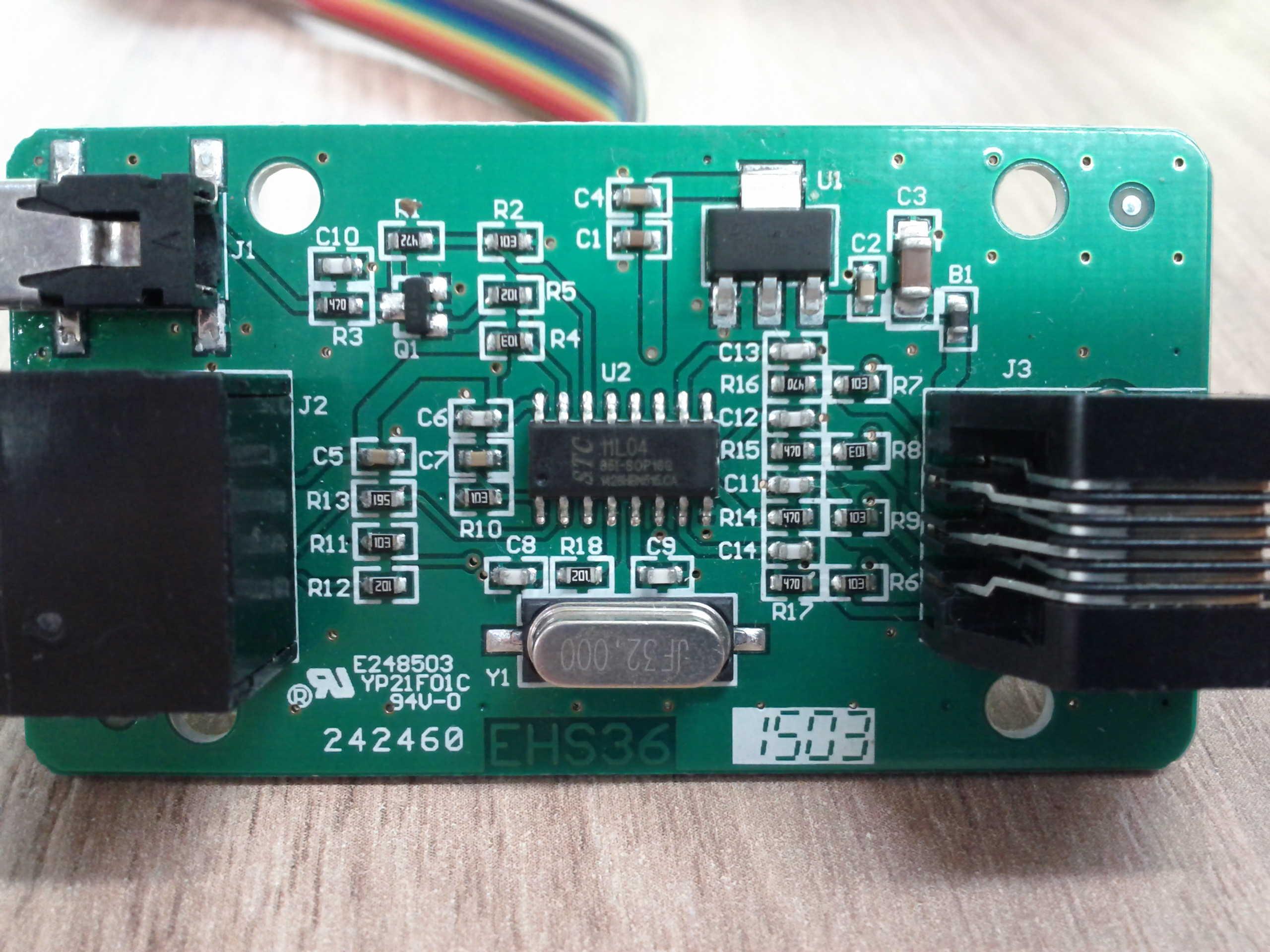 Yealink EHS36 PCB